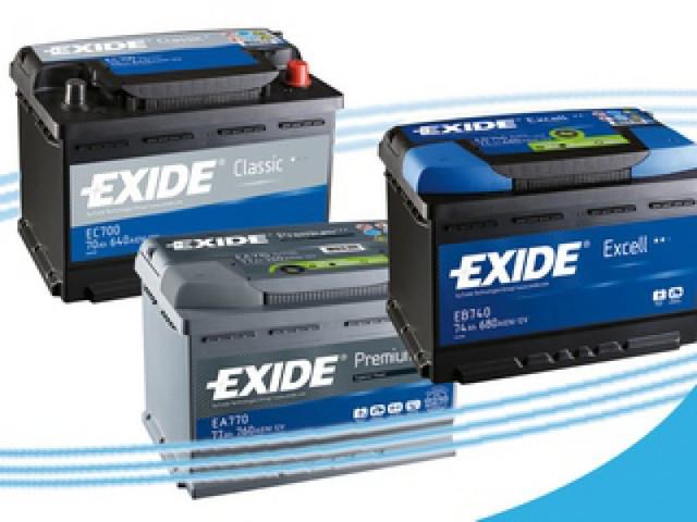 Аккумуляторы exide technologies