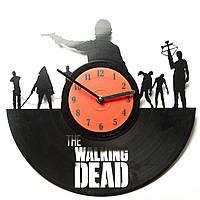 Часы виниловые The Walking Dead