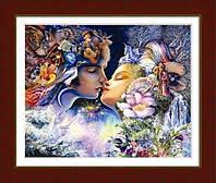 """Набор алмазной живописи """"Прелюдия к поцелую (по мотивам худ. Жозефины Уол)"""""""