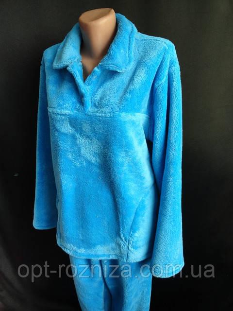 Махровые женские пижамы на зиму.