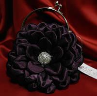 Клатч свадебный,вечерний(фиолетовый)