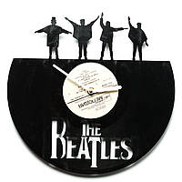 Часы виниловые The Beatles