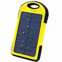 Зарядное солнечное устройство ES500 с фонариком 5000 mAh