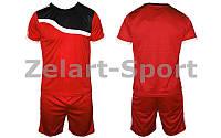 Форма футбольная  подростковая (красный)
