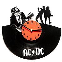 Часы виниловые ACDC
