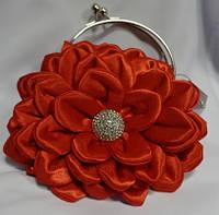 Клатч свадебный,вечерний(красный)