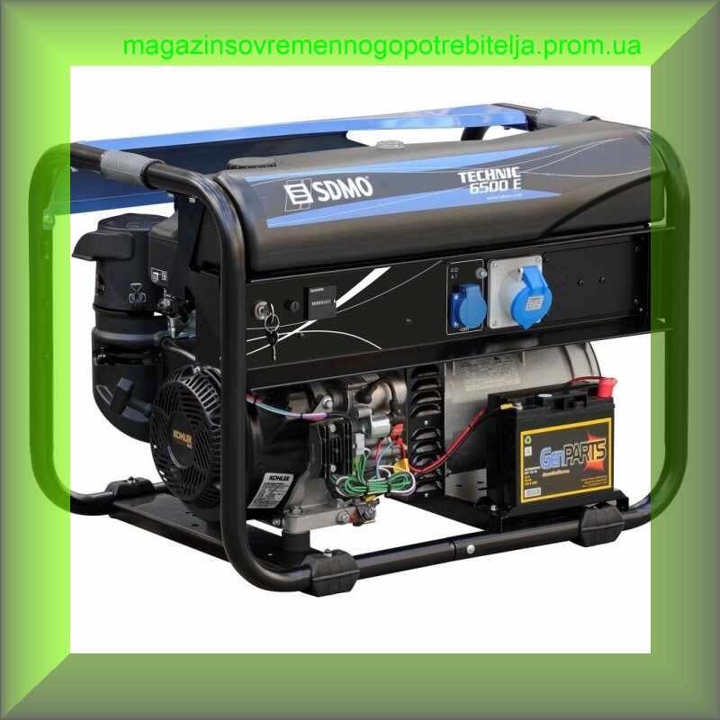 Генератор бензиновый SDMO Technic 6500 E