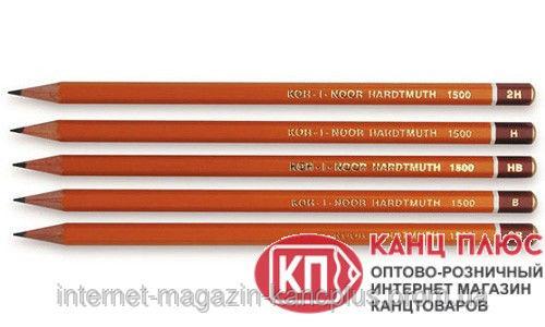 Kooh-i-noor карандаши чернографитные (простые)