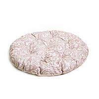 Подушка на стул круглая