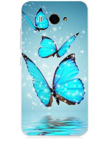 Силиконовый чехол накладка для Xiaomi M2 с картинкой бабочки