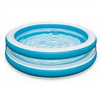 """Детский надувной бассейн """"Морская волна"""" Intex 57489"""