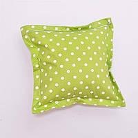 Декоративная квадратная подушка