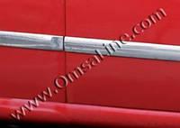 Ford Fiesta 2002-2006 молдинг дверей нерж (4 части)