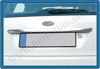 Ford Fiesta 2002-2008 задняя планка нерж