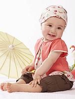 Модний костюм-трійка для дівчаток-немовлят