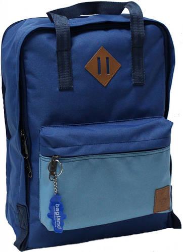 Повседневный синий  рюкзак Bаgland Liberty  0050266-4 19 л