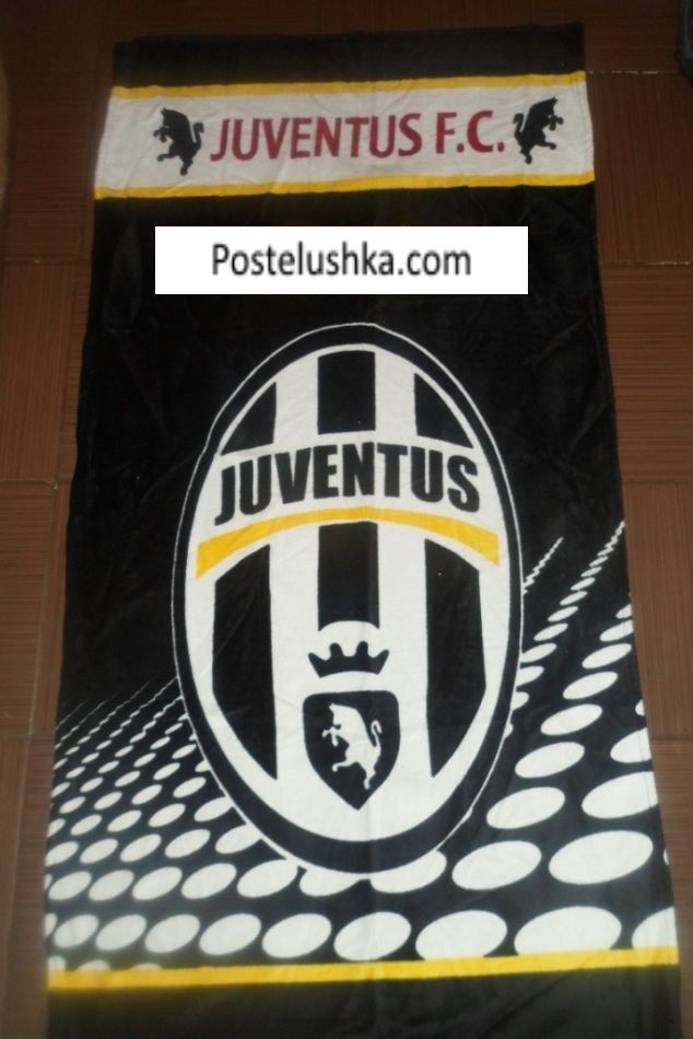 Полотенца с логотипом ювентус