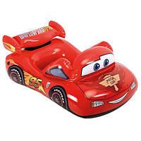 Надувной автомобиль Intex Disney Тачки 58391: 109х66 см, 3-6 лет, винил, красный