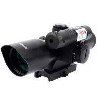 2 в 1 - Прицел оптический + лазерный целеуказатель Vector Optics Sideswipe (2.5-10x40, 5mW)
