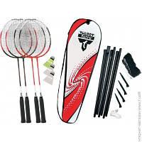 Ракетка Для Бадминтона Talbot Torro Badminton Set 4 Attacker Plus (449515)