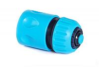 """Коннектор для быстрого подсоединения шланга 3/4""""  Cellfast Stop 51-125"""