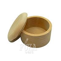 Шкатулка деревянная круглая ø80 мм