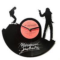 Часы виниловые Michael Jackson