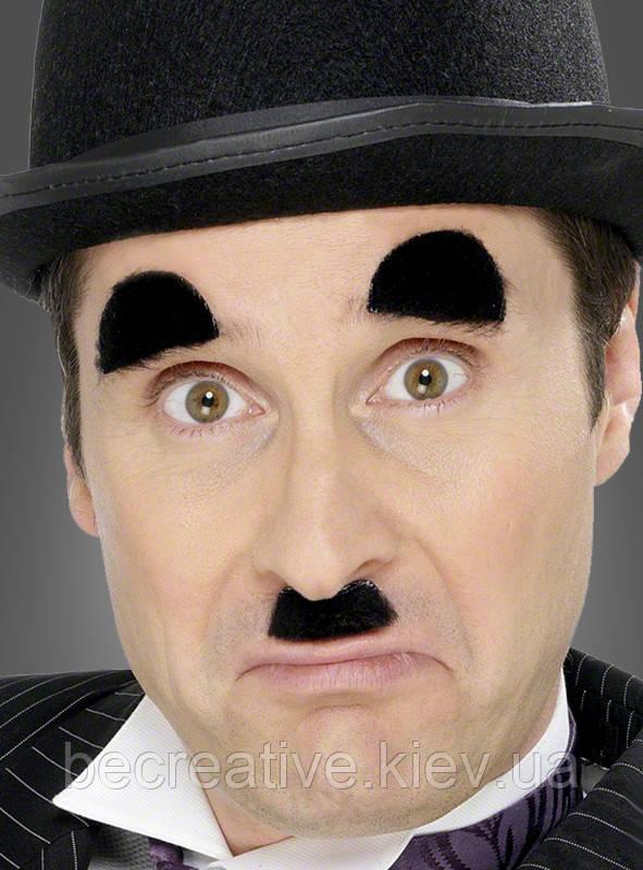 Чарли Чаплин усы и брови