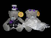 Мишки Тедди на авто (цвет одежды возможен любой)
