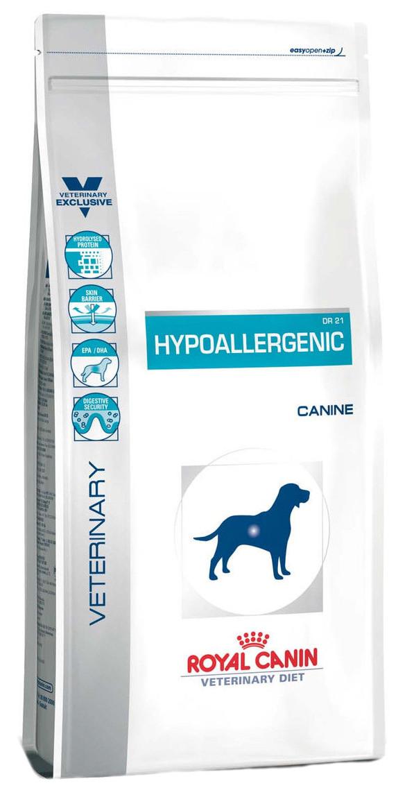 Лечебный корм для собак Royal Canin Hypoallergenic Dog - аллергия