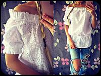 Лёгкая женская блузка 973