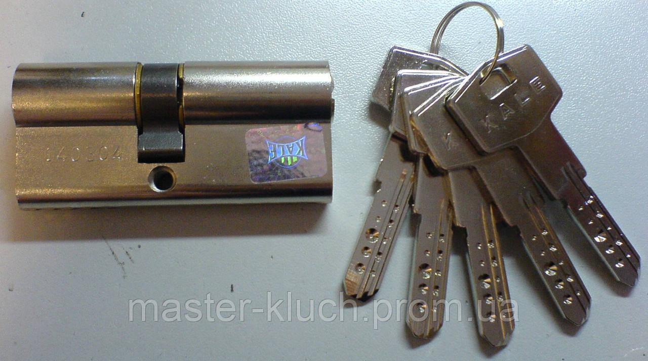 Цилиндр замка  Kale 164 BN  68 мм никель