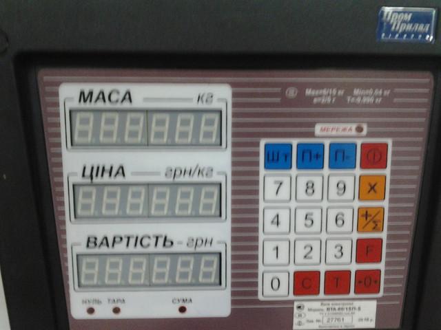 весы электронные подвесные ВТА-60/15П-5