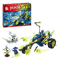 "Конструктор SENCO (аналог Lego Ninjago) ""Засада на мотоцикле"" sy386, 331 дет."