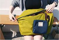 Летняя сумка с короткими ручками Green.L