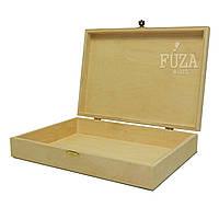 Шкатулка прямоугольная деревянная, внутри А4, для документов, подарочная