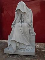 Скульптура скорбящая мать