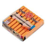 Полимерная глина Craft&Clay Крафт энд Клей 52 г,цвет апельсин 1009