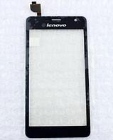 Оригинальный тачскрин / сенсор (сенсорное стекло) для Lenovo K860 (черный цвет)