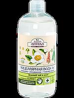 Мицеллярная вода 3в1 (Зеленый чай и алоэ) - Зеленая Аптека 500мл