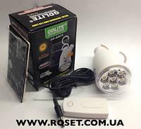 Аккамуляторная лампа-фонарь  gd 5007S + солнечная батарея