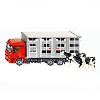 Авто для перевозки животных, 2 коровы Siku 2713