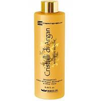 Шампунь увлажняющий с маслом арганы для всех типов волос 1000 мл Brelil Bio traitement Cristalli d'Argan, фото 1