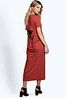Платье с полуоткрытой спиной BooHoo