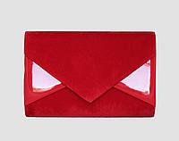 Клатч червоний (текстиль), фото 1