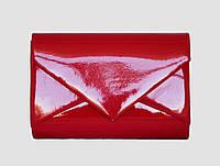 Клатч лаковий червоний, фото 1