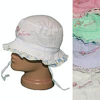 Панама для девочек K18 (1-3 года, минимум 5 расцветок) оптом недорого. Одесса(7км)