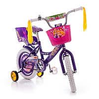 Велосипед детский Азимут Гёлc 18 дюймов Azimut Girls двухколесный