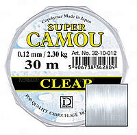 Леска Super Camou Clear 30м. 0,20/5,90kg.