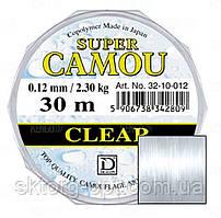 Леска Super Camou Clear 30м. 0,20/5,90kg.